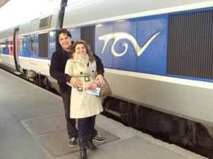 Viagem pela Europa de Trem