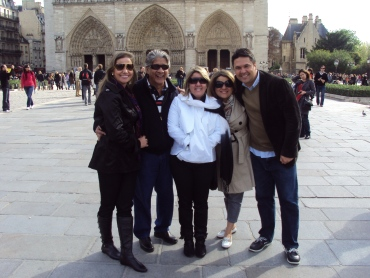 Paris com a família